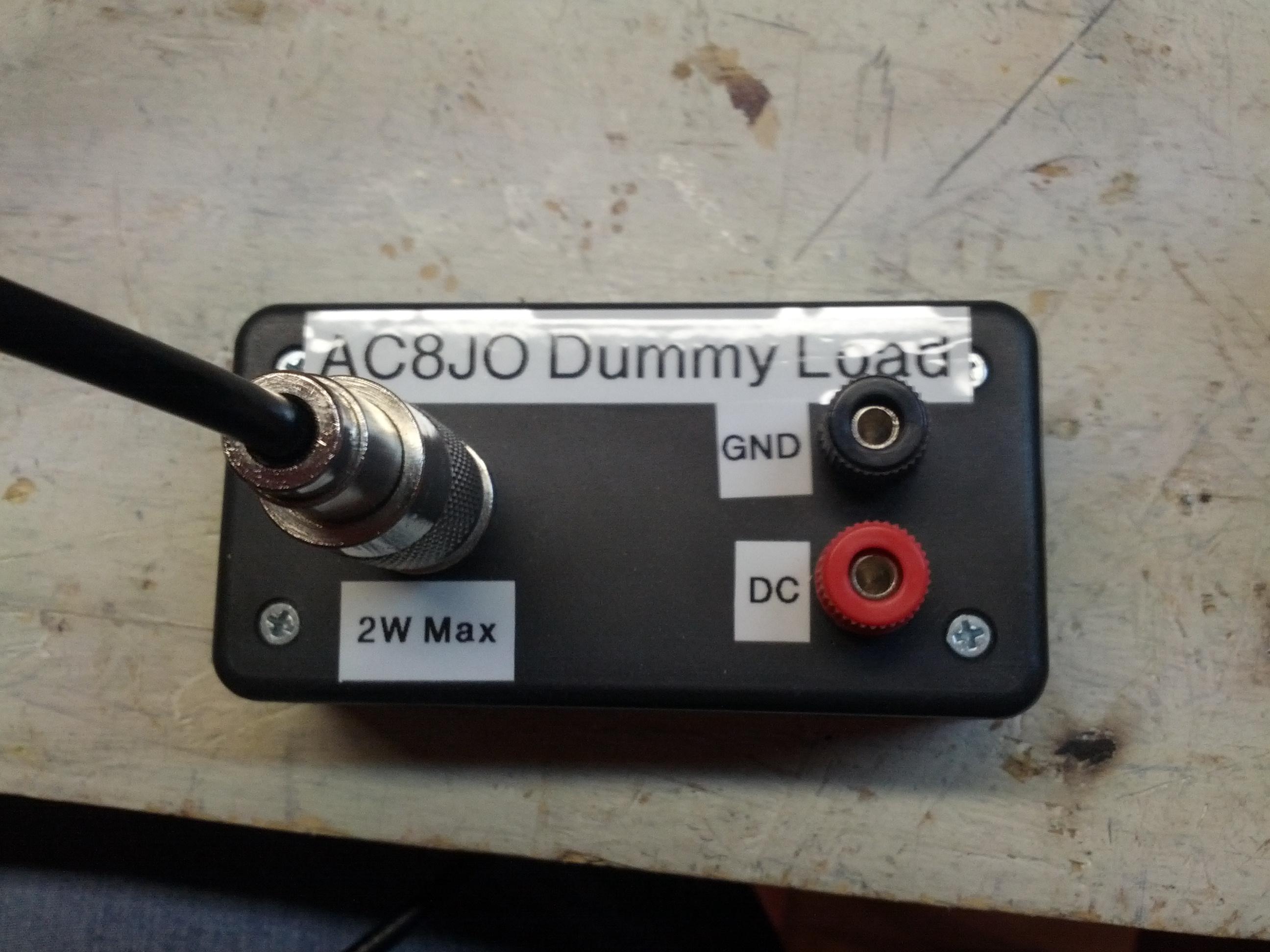 Radio Shack Capacitance Meter : Antenna analyzer ke p