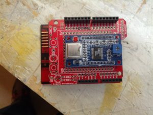 Arduino Diavolino and a home-built shield